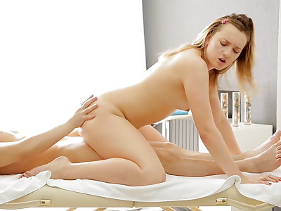 Unbelievable and super-fucking-hot massage hard-core video
